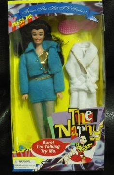 The Nanny doll (from The Nanny , obviously) | 25 Dolls From '90s TV Shows You'll Never Play With Again