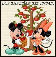 PDF Gráfico Punto de Cruz, Disney 57, Disney Punto de Cruz, Disney, Disney Cross Stitch Pattern