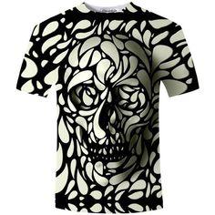 3D graphic T-shirt