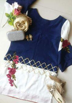 Girls Dresses Sewing, Stylish Dresses For Girls, Little Girl Dresses, Stylish Girl, Fancy Dress Design, Stylish Dress Designs, Simple Pakistani Dresses, Pakistani Dress Design, Baby Girl Frock Design
