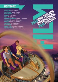 2013 #nziff New Zealand International Film Festival