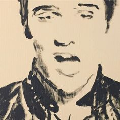 #elvis paint sketch. . . . . . . #brentgodfrey #elvispresley #blackandwhite #beige #paint #sketch #drawing #head #man #singer #celeb #celebrity #studio #process #art #artist #artwork #artlife #artoftheday #artistsoninstagram #artistsofinstagram #detail http://tipsrazzi.com/ipost/1514278941468075911/?code=BUDzKydDyeH