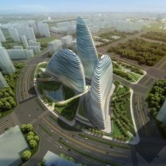 Zaha Hadid in China