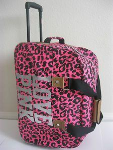 0 Soooo Cute Pink Duffle Bag With Wheels 20 Quot Duffel