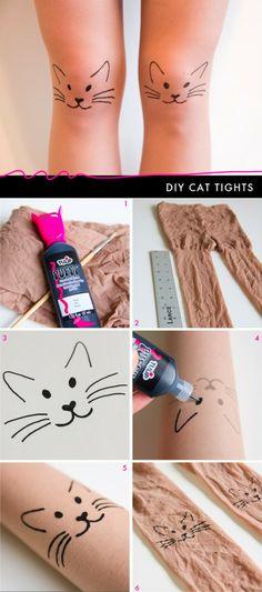 DIY half cat