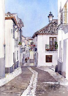 Calle Agua, Albaicin
