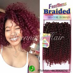 Crochet braids 316166836334038288 - Cheap crochet braids, Buy Quality braiding hair directly from China kinky curly crochet braids Suppliers: Good quality Product color ,style Shipping details Source by chryslaure Crochet Braids Hairstyles Curls, Curly Crochet Braids, Curly Crochet Hair Styles, Crochets Braids, Crochet Braid Styles, Hairstyles With Bangs, Braided Hairstyles, Curly Haircuts, Famous Hairstyles