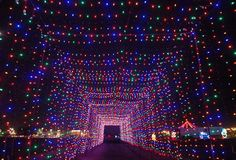 christmas spirit - top 10 christmas displays in the US #puravida