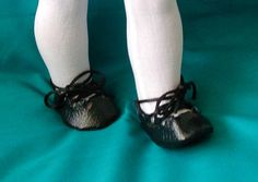 Irish Step Dance Ghillies handcrafted by Beach Baby Doll   Great for your little step dancers to use for their dolls.  $11.75