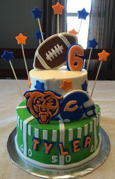 Chicago Bears Cake