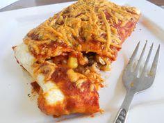 Vegan Heartland: Black Bean and Rice Enchiladas