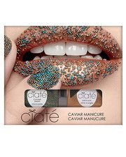 This is hot - like in very, very hot!   Ciaté caviar manicure nail polish