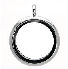 Spirit Lockets - LARGE SILVER LOCKET, $18.00