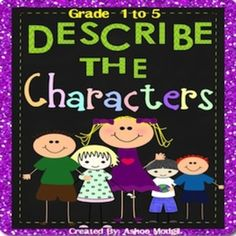 Character traits are very important for both reading and writing. Character Traits Reading Response Graphic Organizers include fun, flexible and interactive  organizers to introduce characterisation technique to the kids.  Use these differentiated and versatile reading response organizers with as many literature books as you want throughout the year.