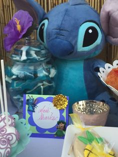 Lilo and Stitch Inspired Hawaiian Luau | CatchMyParty.com