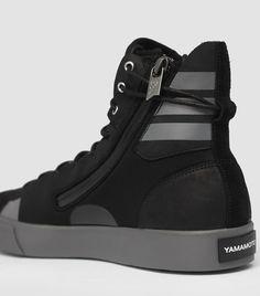 0d4809f063f3 adidas Y-3 Sen High Top Black Sneaker