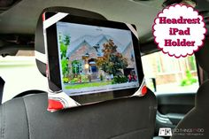 100 Things 2 Do: Headrest iPad Holder DIY