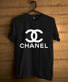 Black and white Chanel tee.