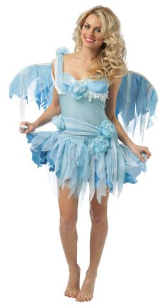 Women's Fairy Costumes Blue Serenity Fairy Girl Costumes, Adult Costumes, Halloween Costumes, Halloween Stuff, Costume Ideas, Blue Fairy Costume, Butterfly Party, Fairy Makeup, Princess Party