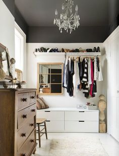 Beauty Rooms: 13 Bedrooms Turned Into the Dreamiest of Dream Closets                                                                                                                                                                                 More