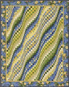Sunshine and Blue Skies  Quilt Designer: Mabeth Oxenreider