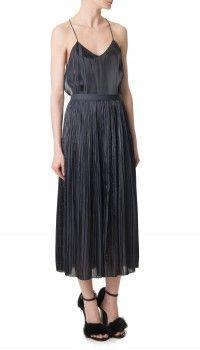Flume Pleated Skirt