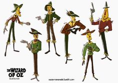 Wizard of Oz Scarecrow 1