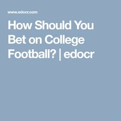 edocr is the only document marketplace to facilitate free lead generation, SEO visibility, and document selling. College Football Betting, Fantasy Football, Cool Websites, Tips, Counseling