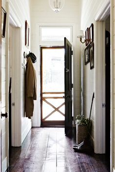 * dream about having screen doors just like this one on both the front and back door of our home *