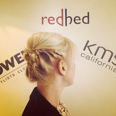 Hair up #RedhedLondon 7 Charlotte Place, London Call us for a free consultation 02074368099