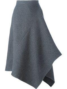 Achetez Stella McCartney jupe à design asymétrique.