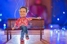 Puppet portrait of Robin Williams Robin Williams, Puppets, Bring It On, Portrait, People, Men Portrait, People Illustration, Drawings, Dolls