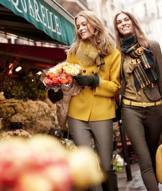 MAX MARA - COLLEZIONI  Love yellow for fall!