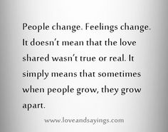 16 Best Growing Apart Quotes images | Quotes, Me quotes ...