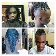 Loc Mohawk Dread Braids, Dreadlocks, Mohawks, Haircut Styles, Hair Images, Shaving, Badass, Style Me, Hair Cuts
