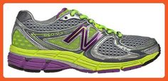 New Balance Women's 880GY3 Stability Running Shoe (Silver with Purple & Yellow, 10.5) - Athletic shoes for women (*Amazon Partner-Link)