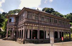 The Foreigners Mansion, Ijinkan, Kagoshima, Kyushu, Japan.