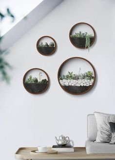 A genuinely breathtaking take on a hanging wall vase or wall planter. The Nova Nordic Wall Vase collection comes in a variety of sizes. Artisan made with premium iron, these eye catching pieces can bring a whole new look to any indoor or outdoor space. Wall Hanging Designs, Hanging Wall Planters, Hanging Plants, Wall Vases, Hanging Vases, Plant Wall, Plant Decor, Wall Terrarium, Cool Walls