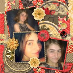 Template used: Floral Hues by Brenian Designs available at http://breniandesigns.blogspot.com/  Kit used is by Megan's Creations.