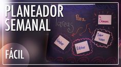 #CatCort #Youtube Planeador Semanal