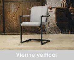 eetkamerstoel vienne vertical - stof vertical