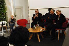 Amedeo Letizia, Attilio Giordano e Paola Zanuttini.  Presentazione da Fandango Incontro a Roma. (Foto di Francesco Mileto.)