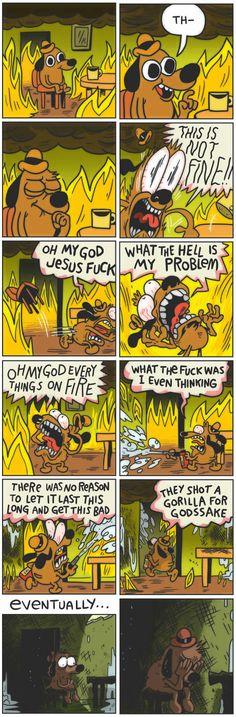 Picture memes by lifeisjustprocrastination: comments - iFunny :) Cute Comics, Funny Comics, This Is Fine Meme, Funny Jokes, Hilarious, Funny Tweets, Lol, Pokemon, Popular Memes