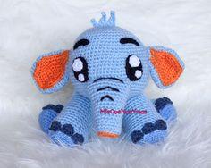 Pequeño Elefante Amigurumi