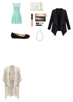 """Untitled #3"" by rosietrs on Polyvore featuring Kate Spade, Miss Selfridge, Yves Saint Laurent, NARS Cosmetics, Chanel and M&Co"