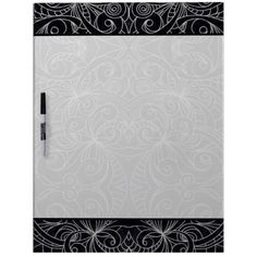 Dry Erase Board Floral abstract background Gift