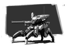 ArtStation - Mechs_01, Chanlie Young