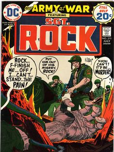 Sgt. Rock #270  Our Army at War