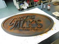 A gallery of CNC sign ideas #cnc #signage