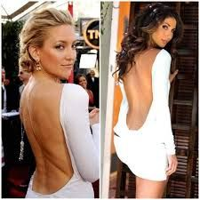 White and backless..we so love